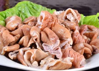 火锅涮煮菜品-肥肠