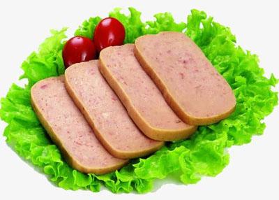 火锅涮煮菜品-午餐肉