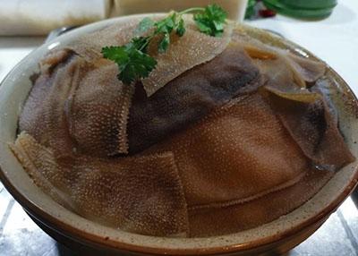 火锅涮煮菜品-鲜毛肚