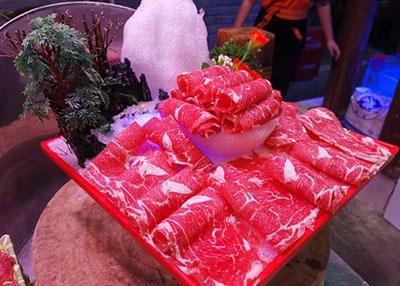 火锅涮煮菜品-精品肥牛