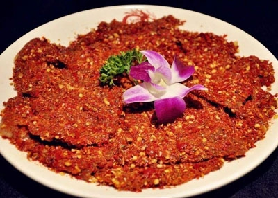 火锅涮煮菜品-麻辣牛肉