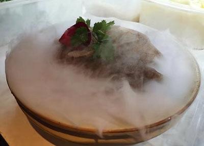 火锅涮煮菜品-精品毛肚