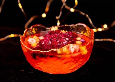 火龙果甜品